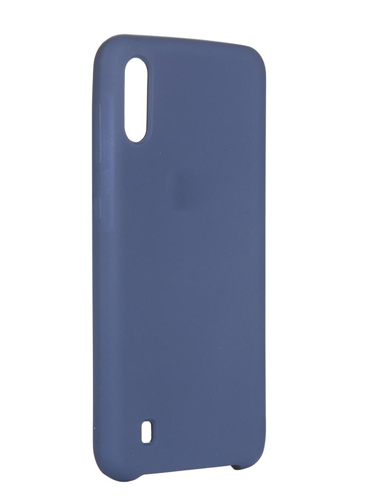 Чехол Innovation для Samsung Galaxy M10 Silicone Cover Blue 15366