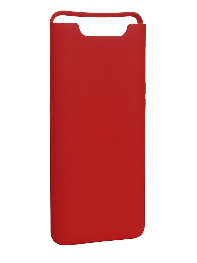 Чехол Innovation для Samsung Galaxy A80/A90 Silicone Cover Red 16538