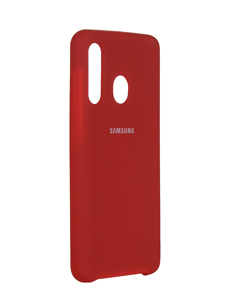 Чехол Innovation для Samsung Galaxy A60 Silicone Cover Red 16289
