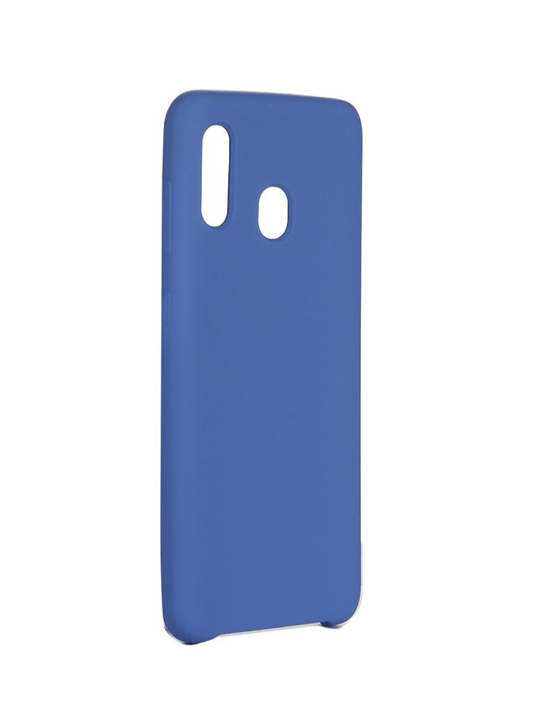 Чехол Innovation для Samsung Galaxy A20/A30 Blue 16277