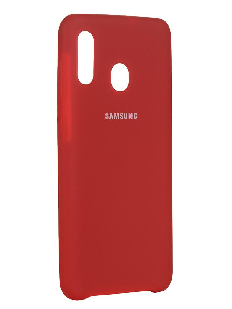 Чехол Innovation для Samsung Galaxy A20/A30 Red 16275