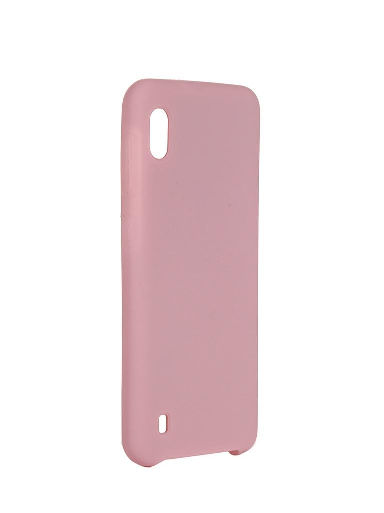 Чехол Innovation для Samsung Galaxy A10 Silicone Cover Pink 16271