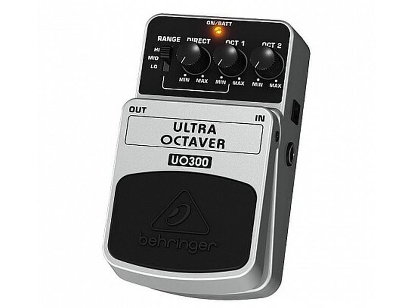 Педаль Behringer Ultra Octaver UO300