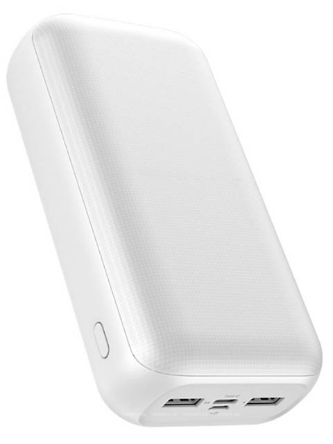 Внешний аккумулятор Golf Edgee Power Bank G55-C 30000mAh White