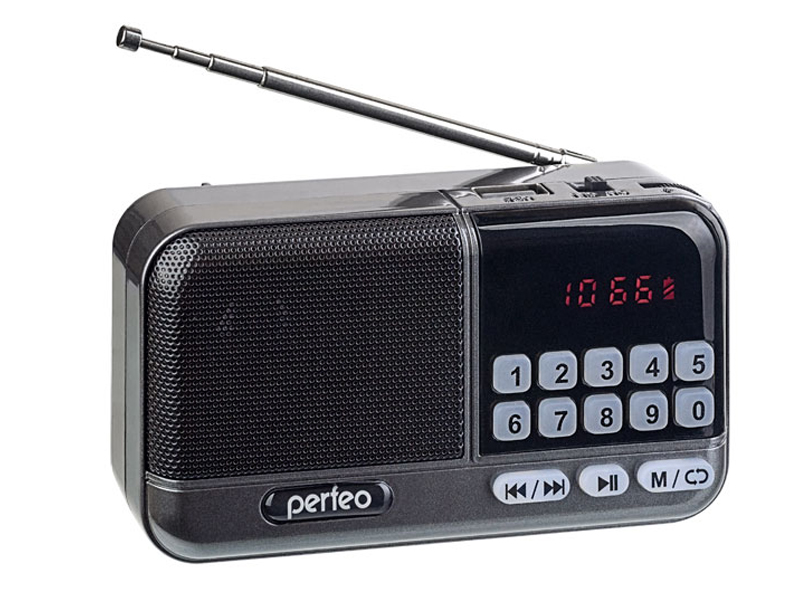 Zakazat.ru: Радиоприемник Perfeo Aspen Grey PF_B4060