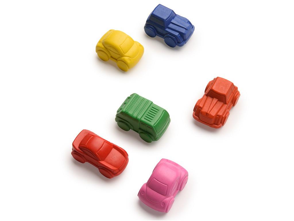 Мелки-машинки Happy Baby 6 цветов 4690624027932