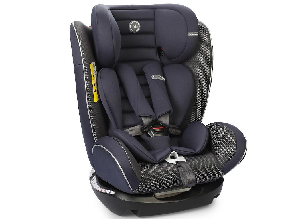 Автокресло Happy Baby Spector группа 0+/1/2/3 Navy Blue 4690624035463