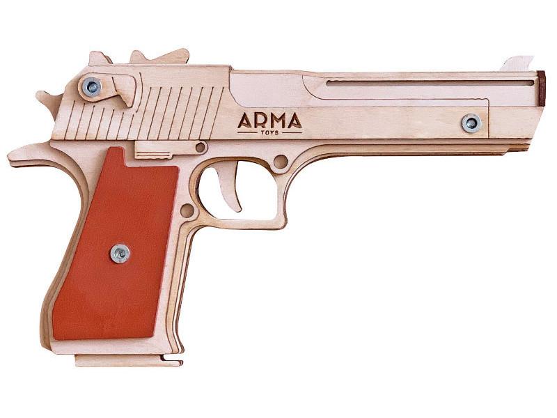 Резинкострел Arma Пистолет дезерт игл AT010 куртка кожаная arma arma ar020ewzsi32