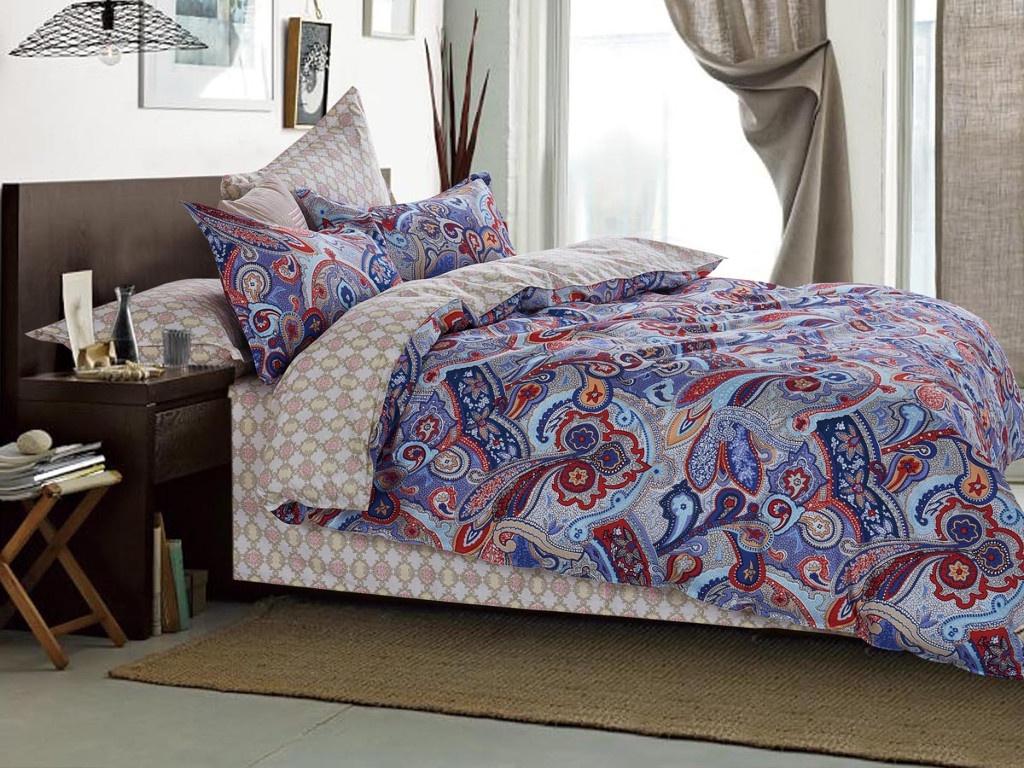 Постельное белье Cleo Satin Lux 15/462-SL Комплект 1.5 спальный Сатин цена 2017