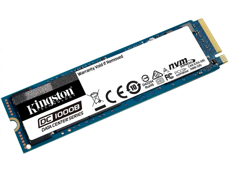 Жесткий диск Kingston DC1000B Data Center 480Gb SEDC1000BM8/480G