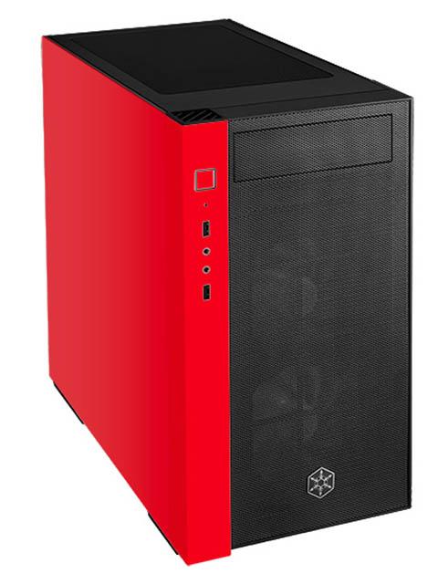 Корпус SilverStone Case Ss RedLine Black-Red SST-RL08BR-RGB