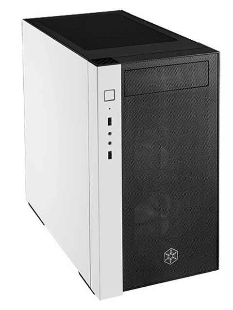 Корпус SilverStone Case Ss RedLine Black-White SST-RL08BW-RGB