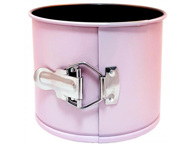 Форма для выпечки Appetite 12x10cm круглая разъемная Pink NF0002P