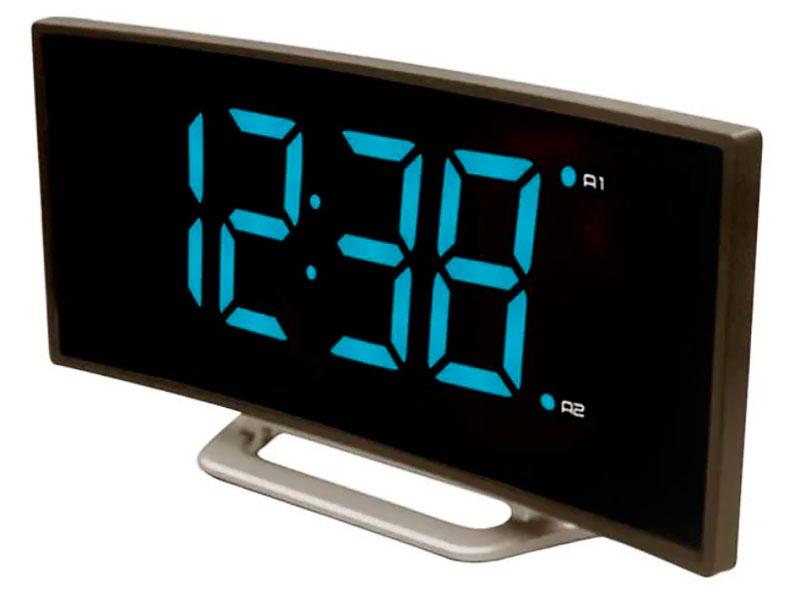 Часы BVItech BV-412BMK Blue-Red bvitech электронные настольные часы будильник bv 19gmx