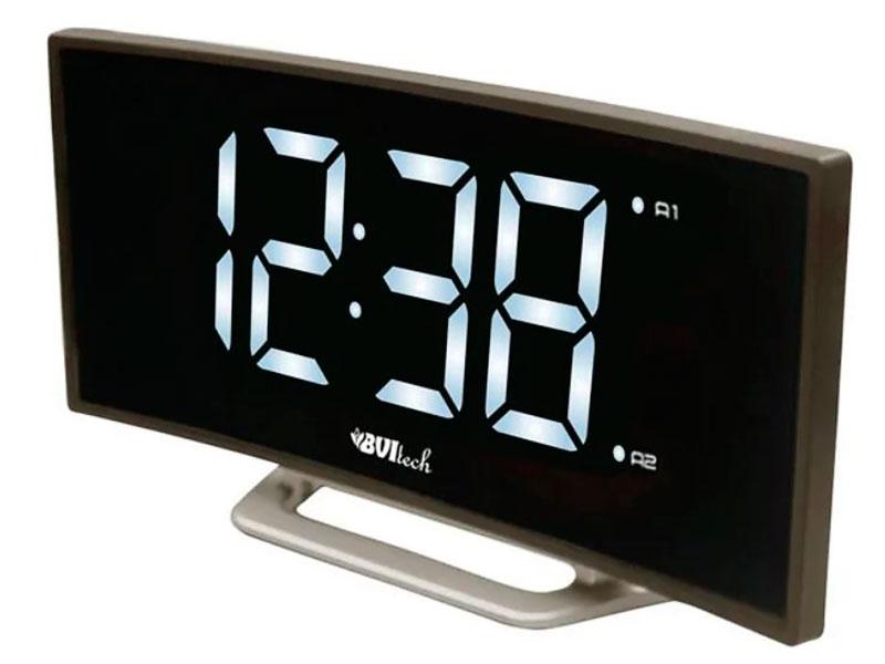 Часы BVItech BV-412WMK White-Black настольные часы bvitech bv 412g