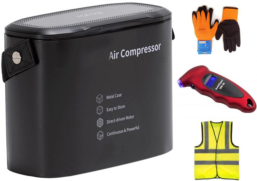 Компрессор Xiaomi 70mai Air Compressor Midrive TP01 Выгодный набор + серт. 200Р!!!