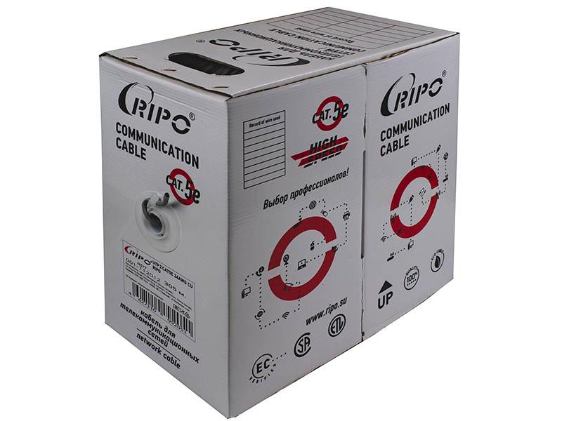 Сетевой кабель Ripo UTP 2 CAT5E 24 AWG Cu 305m 001-111008/010309