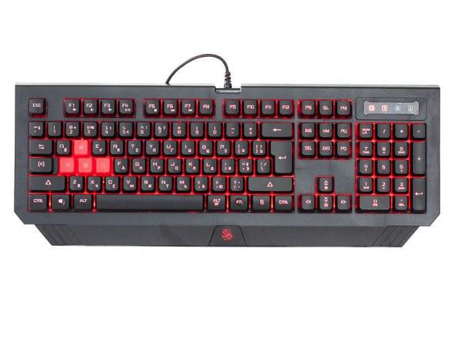 Клавиатура A4Tech A4 Bloody B125N Black USB