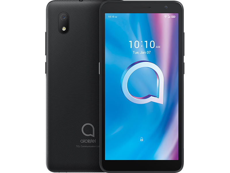 Сотовый телефон Alcatel 1A 2020 5002F Prime Black смартфон alcatel 1a 2020 5002f pine green