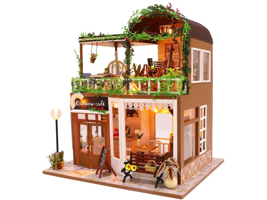 Сборная модель DIY House Лаунж кафе M906