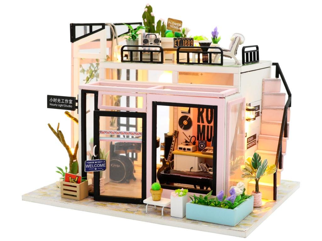 Сборная модель DIY House Студия звукозаписи M903