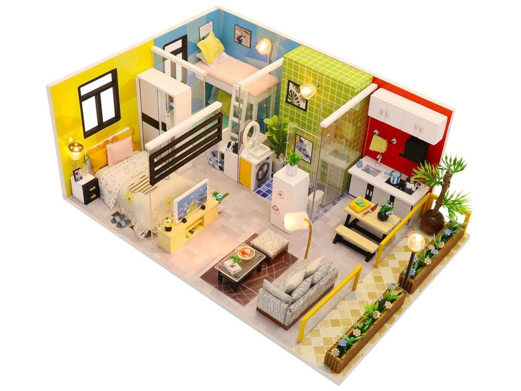 Сборная модель DIY House Квартирный вопрос M043