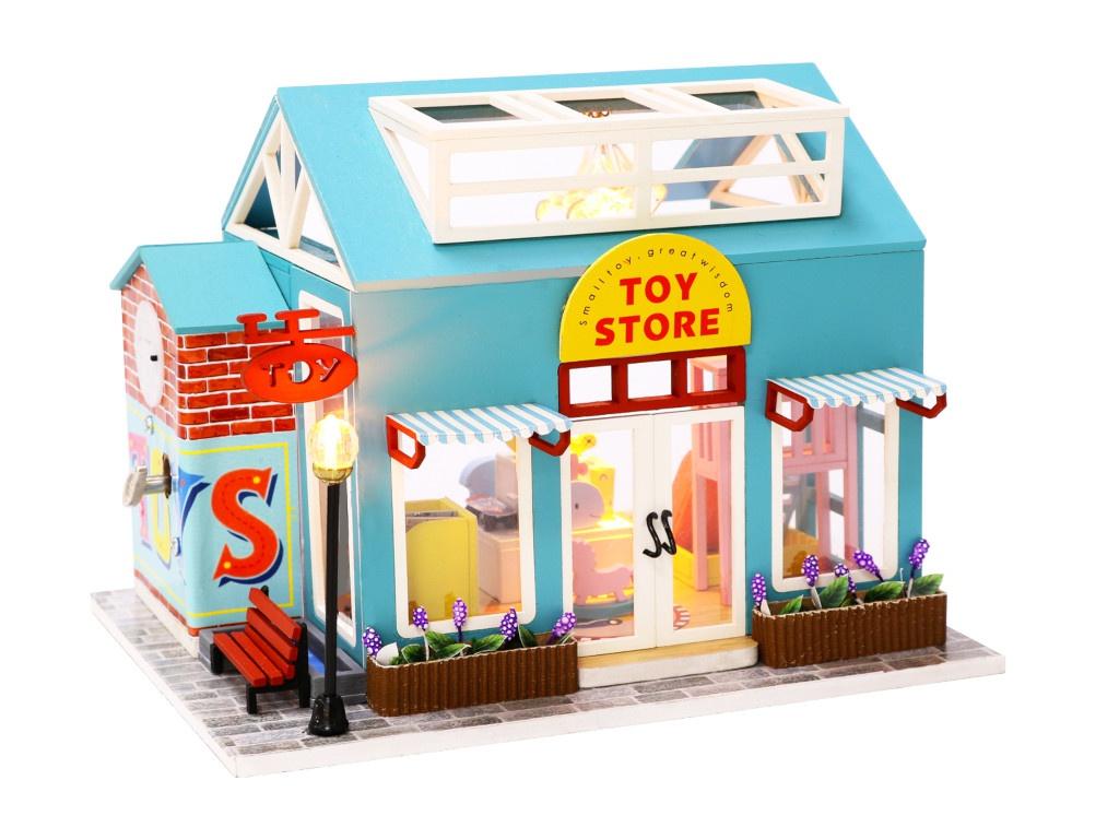 Сборная модель DIY House Магазин игрушек M904