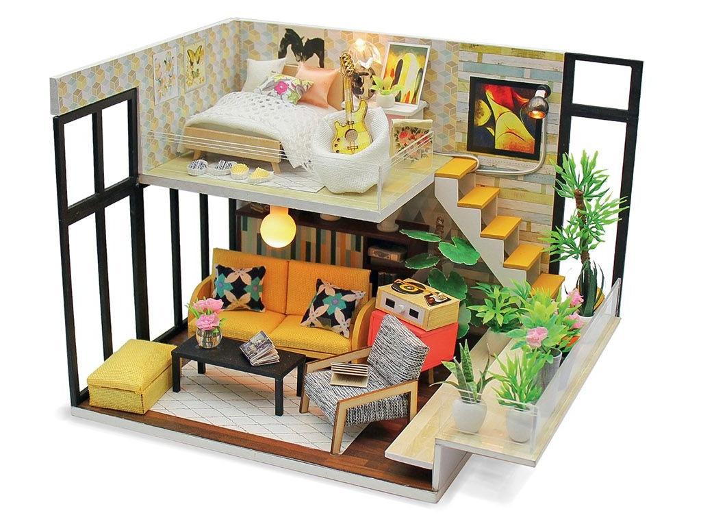 Сборная модель DIY House Эколофт M031