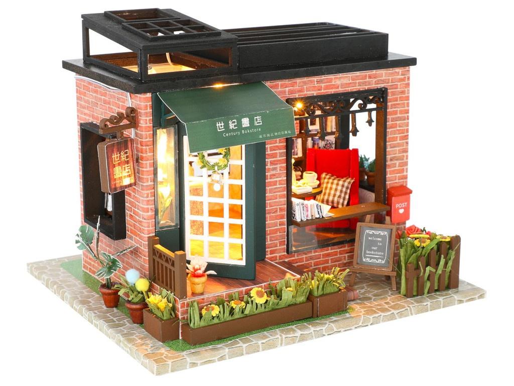 Сборная модель DIY House Книжный магазин C008