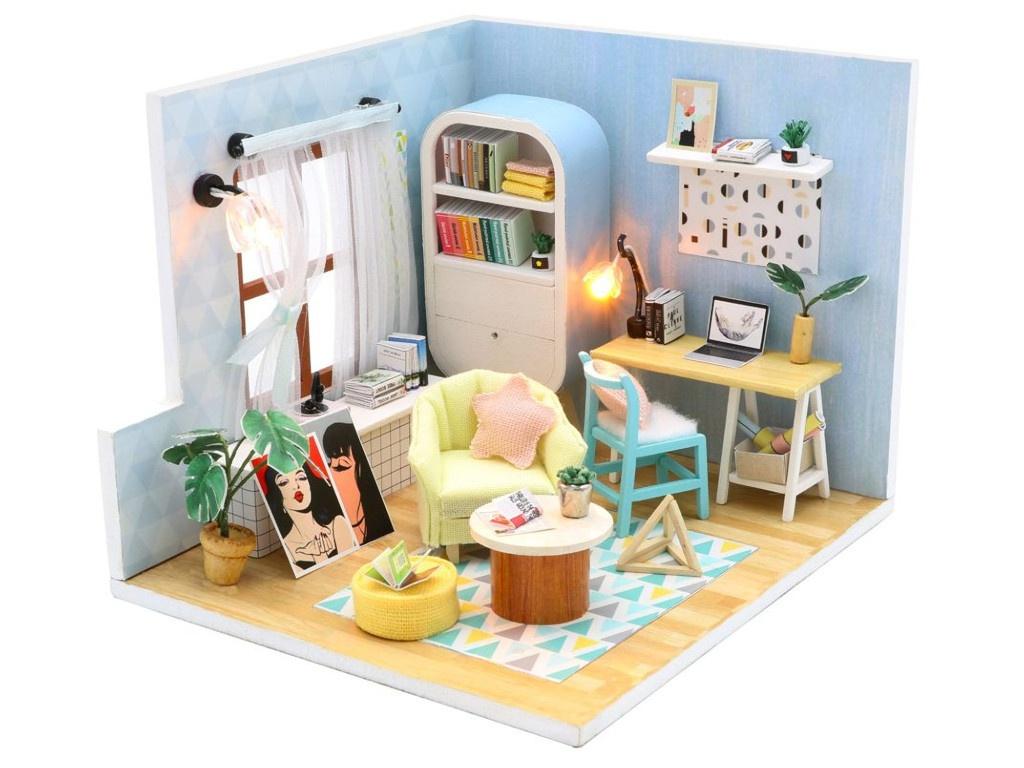Сборная модель DIY House В стиле Ретро S903