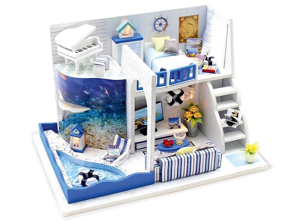 Конструктор DIY House Морской бриз M040
