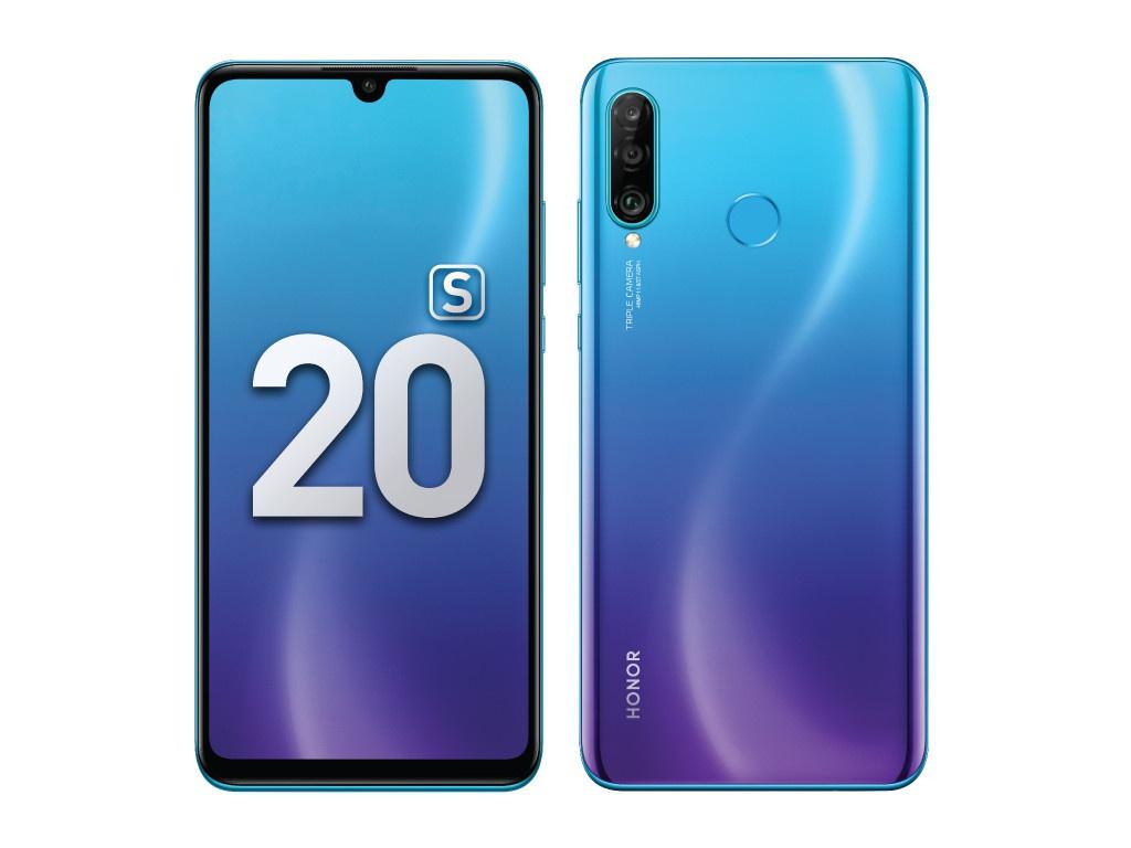 Сотовый телефон Honor 20S 6Gb/128Gb Sapphire Blue Выгодный набор + серт. 200Р!!! сотовый