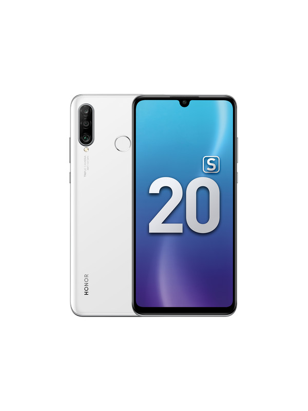 Сотовый телефон Honor 20S 6/128Gb Pearl White Выгодный набор + серт. 200Р!!!