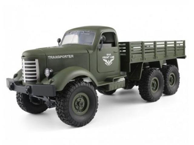Радиоуправляемая игрушка WL Toys Military Truck B-16 1:16 41 см