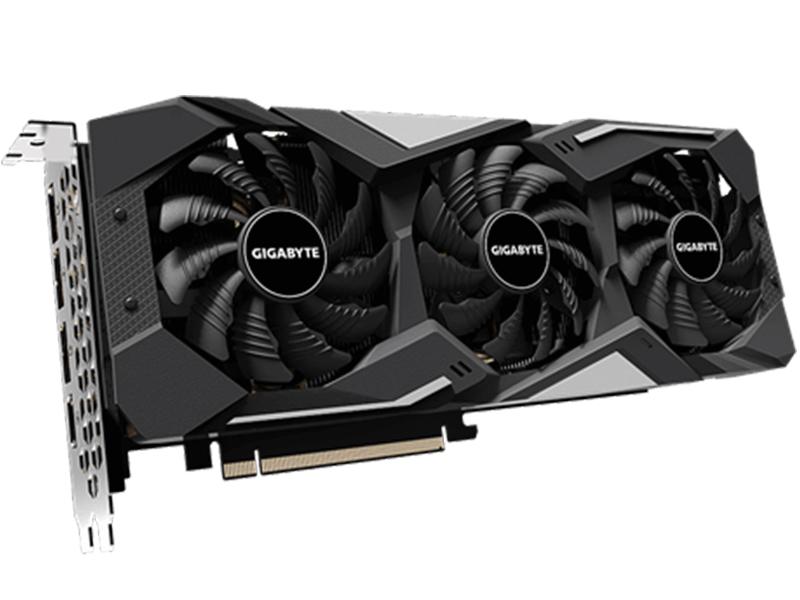 Видеокарта GigaByte Radeon RX 5500 XT Gaming OC 1717Mhz PCI-E 3.0 4096Mb 7000Mhz 128 bit DVI DP HDMI HDCP GV-R55XTGAMING OC-4GD цена и фото