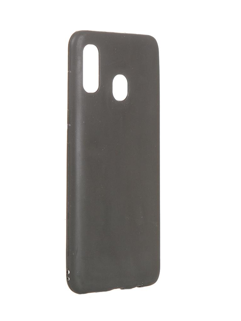Чехол Liberty Project для Samsung Galaxy A20/A30 TPU Black 0L-00045422