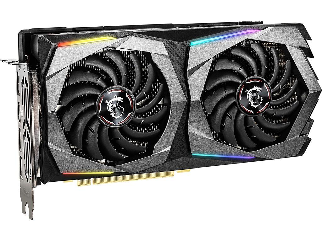 Видеокарта MSI GeForce RTX 2060 1650Mhz PCI-E 3.0 8192Mb 14000Mhz 256 bit HDMI 3xDP RTX 2060 SUPER GAMING видеокарта msi geforce rtx 2060 1665mhz pci e 3 0 8192mb 14000mhz 256 bit hdmi 3xdp rtx 2060 super ventus gp oc 8gb