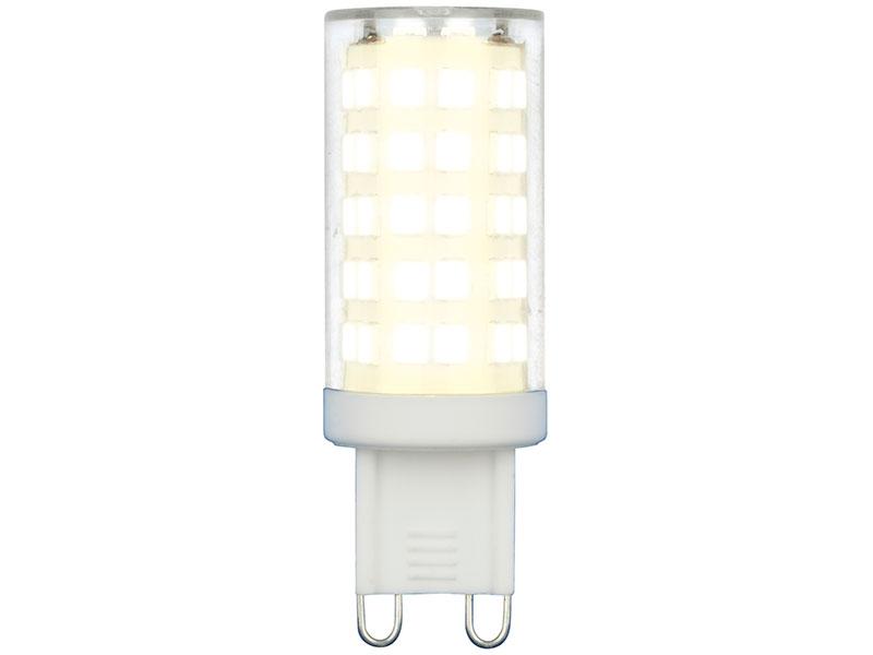 Лампочка Uniel LED-JCD-9W/4000K/G9/CL GLZ09TR UL-00006489