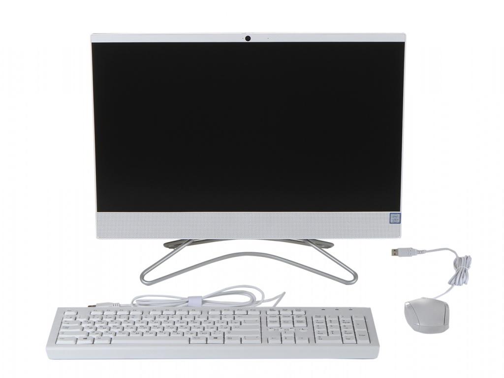 Моноблок HP 22-c0134ur/s White 8UC19EA (Intel Core i3-8130U 2.2 GHz/4096Mb/256Gb SSD/Intel HD Graphics/Wi-Fi/Bluetooth/Cam/21.5/1920x1080/Windows 10 Home 64-bit)