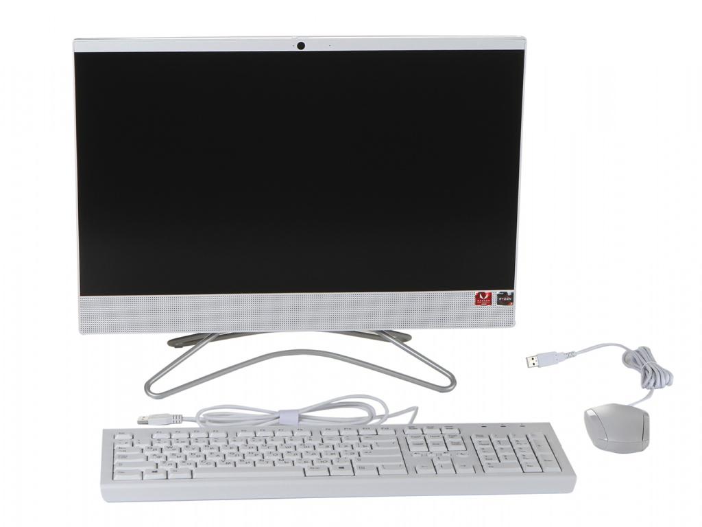 Моноблок HP 22-c1008ur/s White 8TY83EA (AMD Ryzen 3 3200U 2.6 GHz/4096Mb/256Gb SSD/AMD Radeon Vega 3/Wi-Fi/Bluetooth/21.5/1920x1080/Windows 10 Home 64-bit)