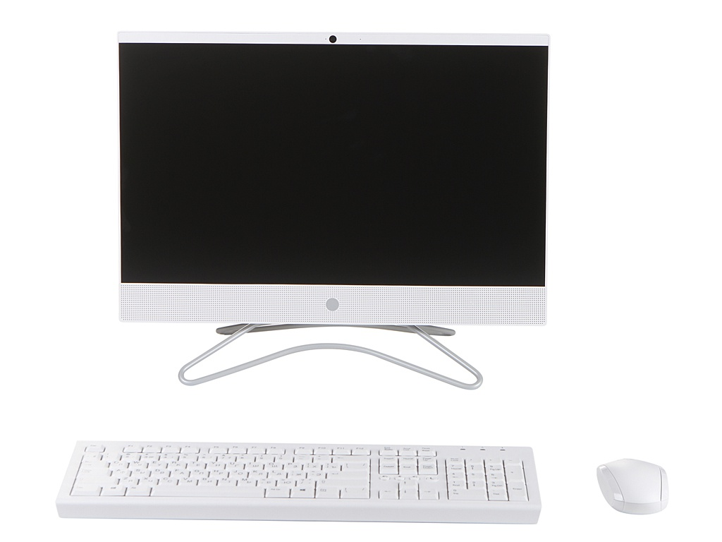Моноблок HP 22-c0132ur/s White 8TY84EA (AMD A6-9225 2.6 GHz/4096Mb/256Gb SSD/AMD Radeon 520 2048Mb/Wi-Fi/Bluetooth/Cam/21.5/1920x1080/Windows 10 Home 64-bit)