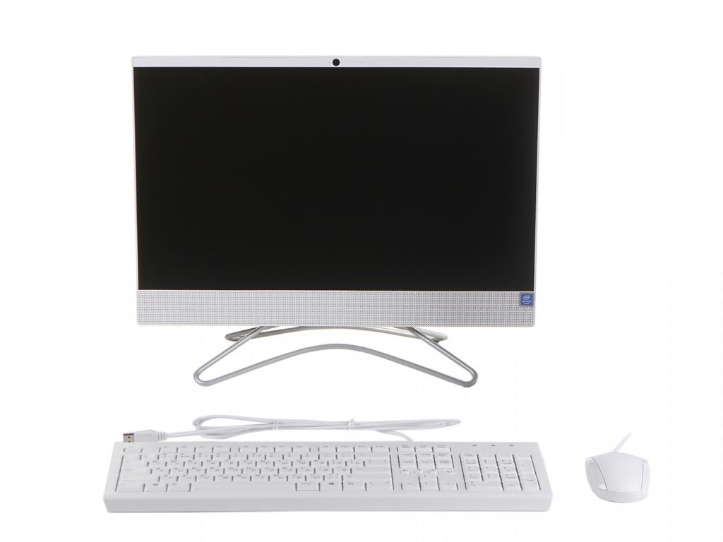 Моноблок HP 22-c0127ur White 7QC24EA (Intel Pentium J5005 1.5 GHz/4096Mb/256Gb SSD/Intel HD Graphics/Wi-Fi/Bluetooth/Cam/21.5/1920x1080/Windows 10 Home 64-bit) фото