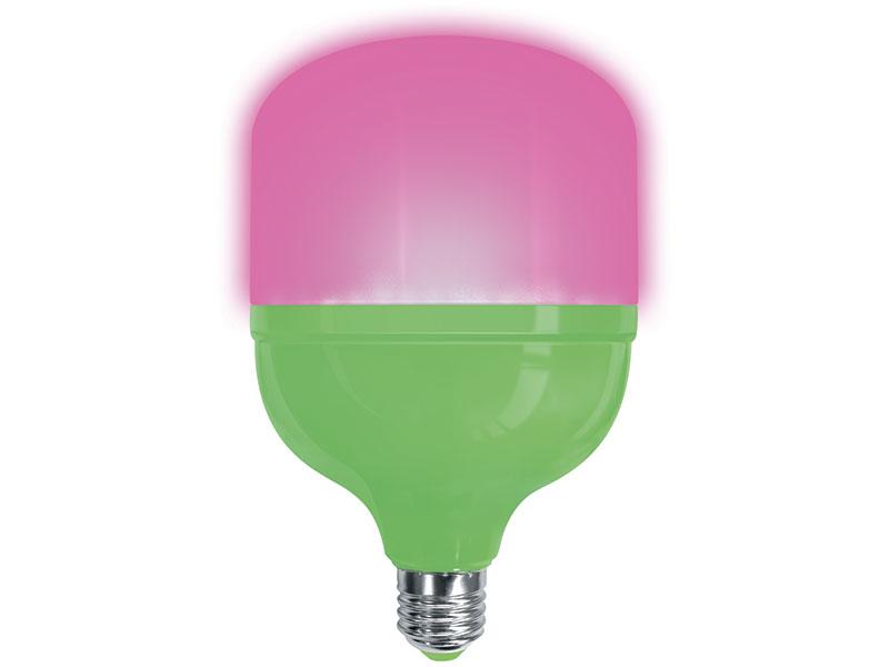 Светодиодная фитолампа Uniel LED-M80-20W/SPSB/E27/FR PLS55GR UL-00006261
