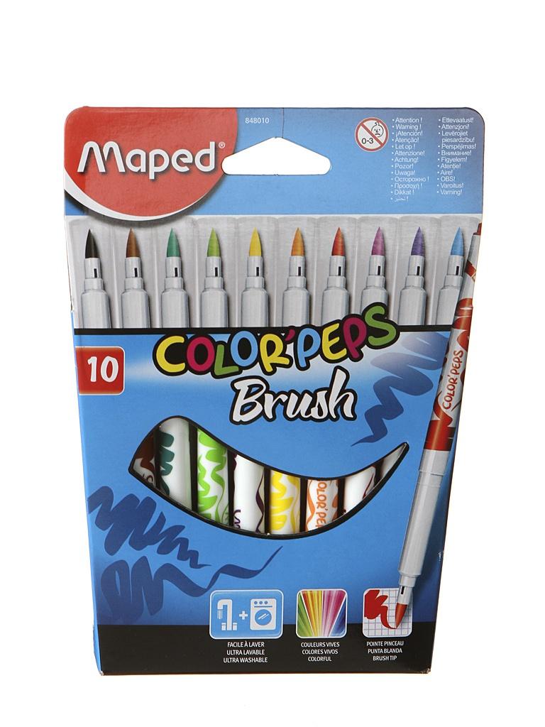 Фломастеры Maped Colorpeps 10 цветов 848010