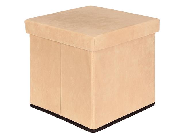Пуф складной с ящиком для хранения Elan Gallery Beige 840023