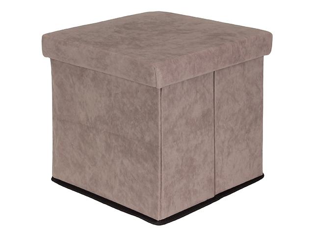 Пуф складной с ящиком для хранения Elan Gallery Grey 840024
