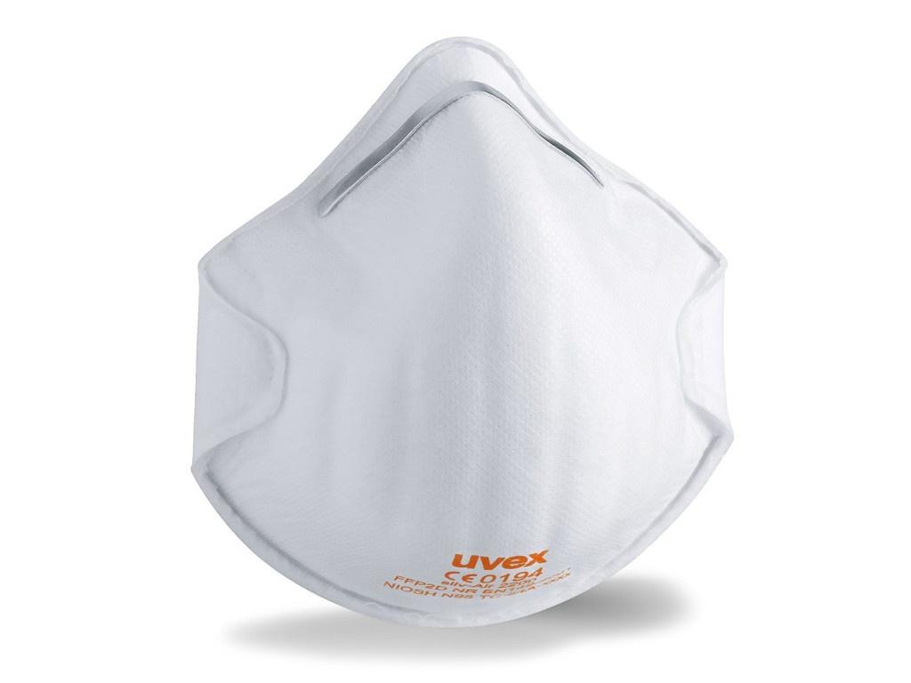 Защитная маска Uvex Cилв-Эйр 2200 класс защиты FFP2 (до 12 ПДК) Без клапана 8732200