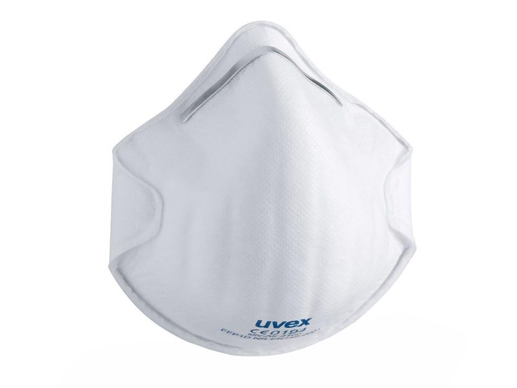 Защитная маска Uvex Cилв-Эйр 2100 класс защиты FFP1 (до 4 ПДК) Без клапана 8732100