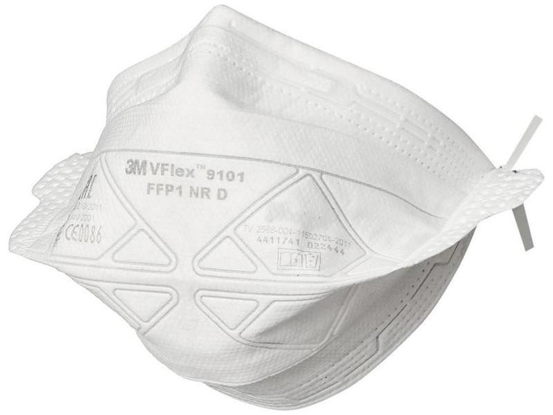 Защитная маска 3M VFlex 9101 класс защиты FFP1 (до 4 ПДК) 7100102661