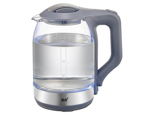 Чайник Rix RKT-1832G Grey сушилка rix rxd 125